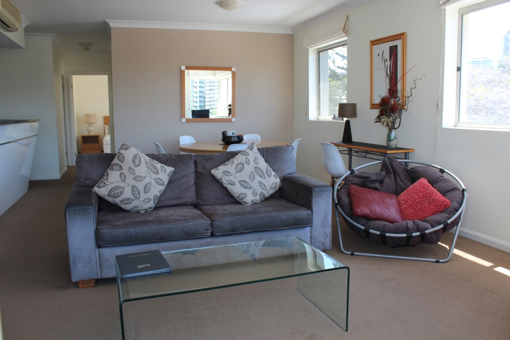 holiday apartment at Bridgewater Terraces