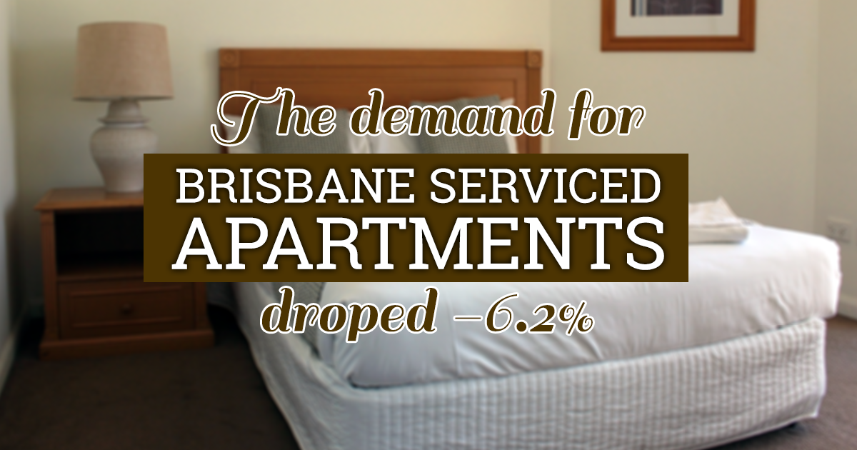 Demand for serviced apartments in Brisbane drop ...